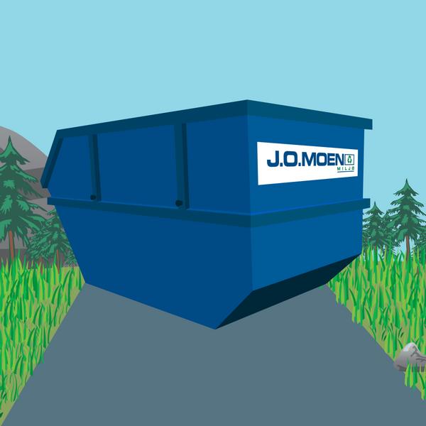 Bilde av Container 10m³ 1 Uke